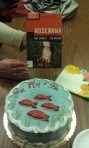 "Swedish ""Fish"" Cake with copy of ""Roseanna"""