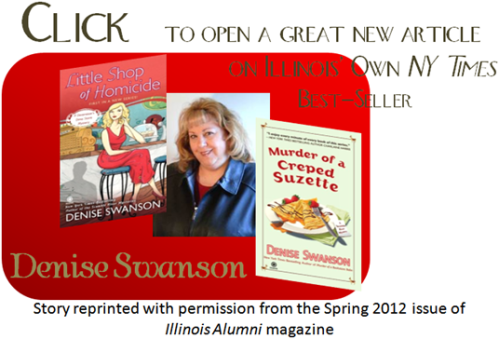 Link to PDF on msytery author, Denise Swanson