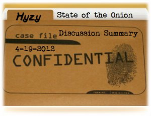 Book Discussion Summary on State of the Onion by Julie Hyzy