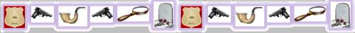 Mystery Genre Icon Border