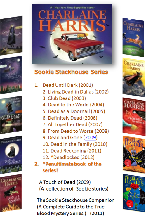 Sookie Book List Link to the Lisle Library collection