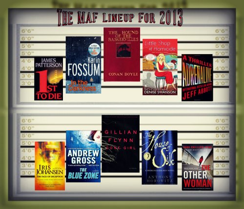 Murder Among Friends 2013 Book List graphic