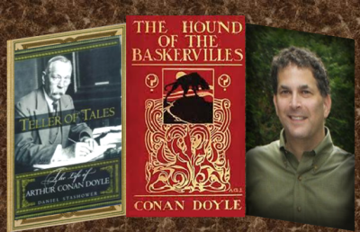 Hound of the Baskerville Cover with Daniel Stashower & Conan Doyle