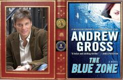 The Blue Zone Cover with author Andrew Gross