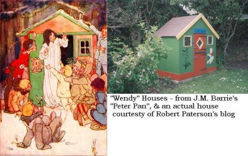 Pictures of Wendy Houses
