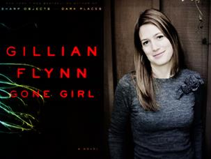 Author Gillian Flynn & Gone Girl Cover
