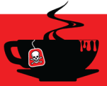 Malice Domestic Black Teacup logo