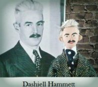 Dashiell Hammet Doll