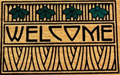 Welcome Mat graphic