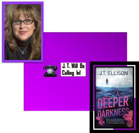 "Cover of ""A Deeper Darkness"" with J. T. Ellison"