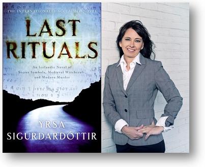 """Cover of """"Last Rituals"""" with Yrsa Sigurdardottir"""