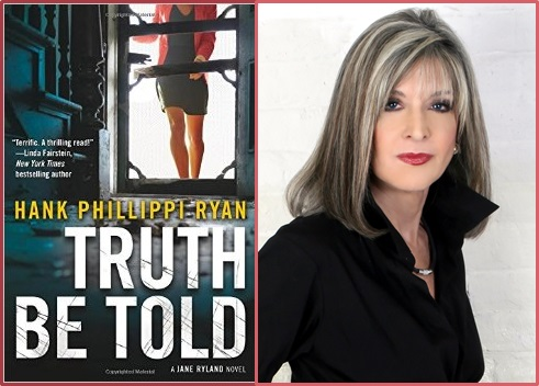 Author Ryan with Truth Be Told cover