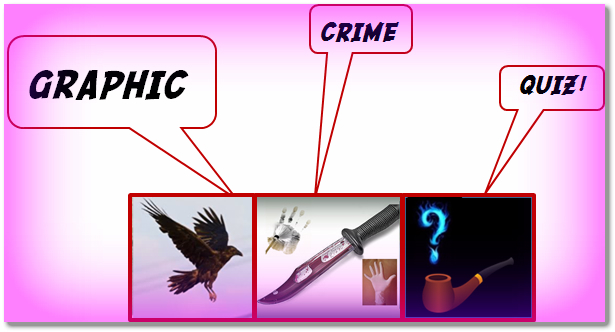 Graphic Crime Quiz graphic
