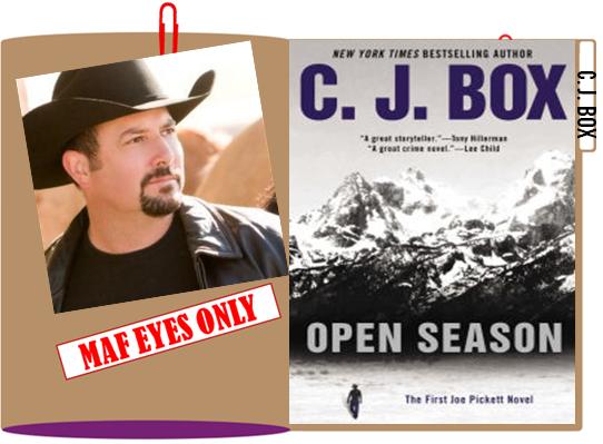 C J Box MAF folder graphic
