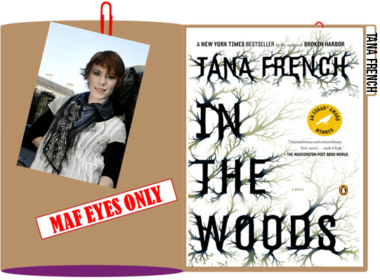 Author Tana French with Book Cover graphic