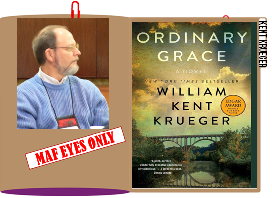 William Kent Krueger File Folder graphic