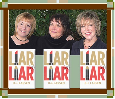 Larsen Liar, Liar cover graphic