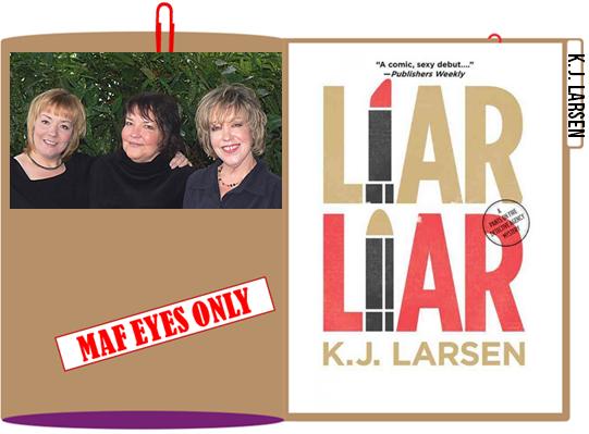 K J Larsen folder graphic