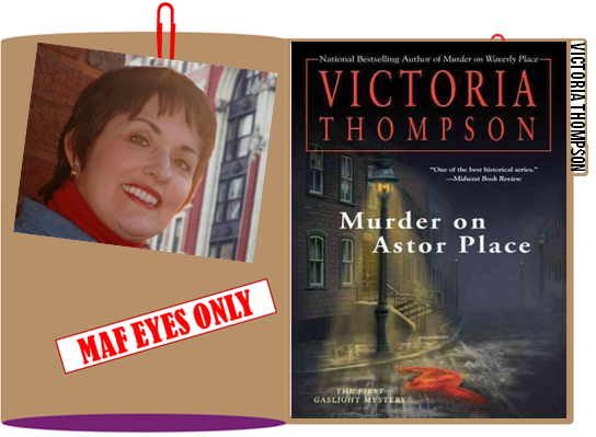 Victoria Thompson graphic