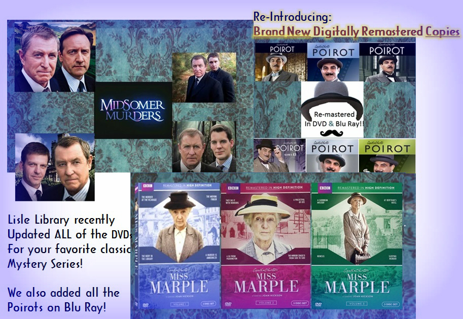 Graphic for Misomer Poirot and Miss MArple