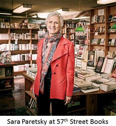 Sara Paretsky at 57th St. Books