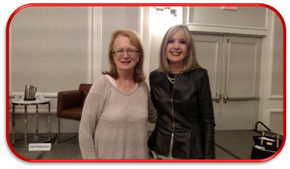 Nancy Pickard and Hank Phillippi Ryan at Malice Domestic 2016