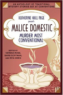 Cover of Malice Domestic Anthology Murder Most Conventional 2016