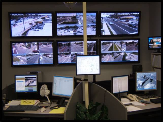 Traffic monitors picture