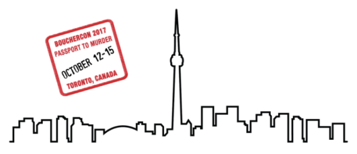 Bouchercon Toronto 2017 graphic