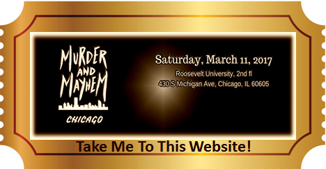 Murder and Mayhem Chicago Ticket graphic