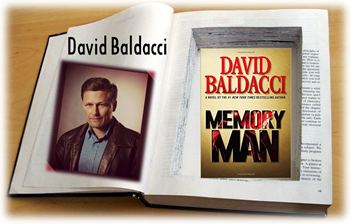 David Baldacci Book Safe with Memory Man