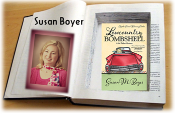 Susan M. Boyer with Lowcountry Bombshell cover