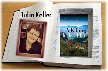 Julia Keller Akilling in the Hills  graphic
