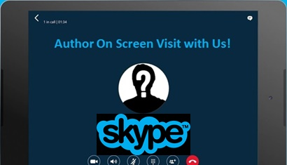 Author Visiting Thru Skype graphic