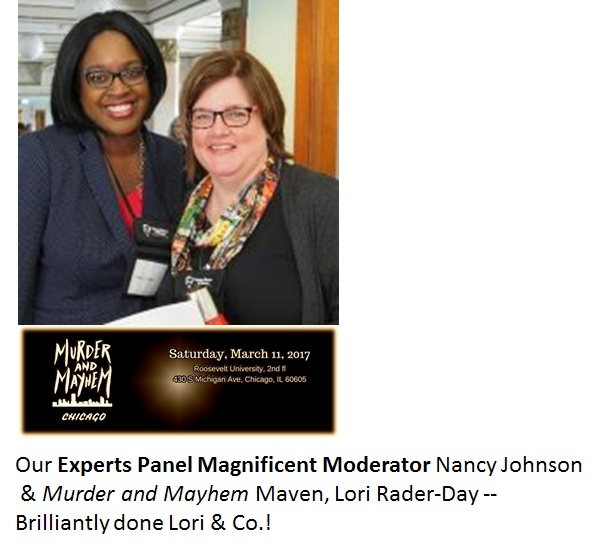 Nancy Johnson and Lori Rader Day