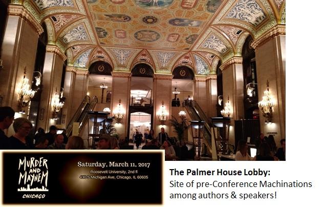 Palmer Lobby Bar Where Panelists Met