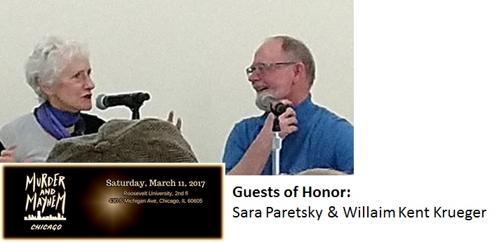 Sara Paretsky and Willaim Kent Krueger