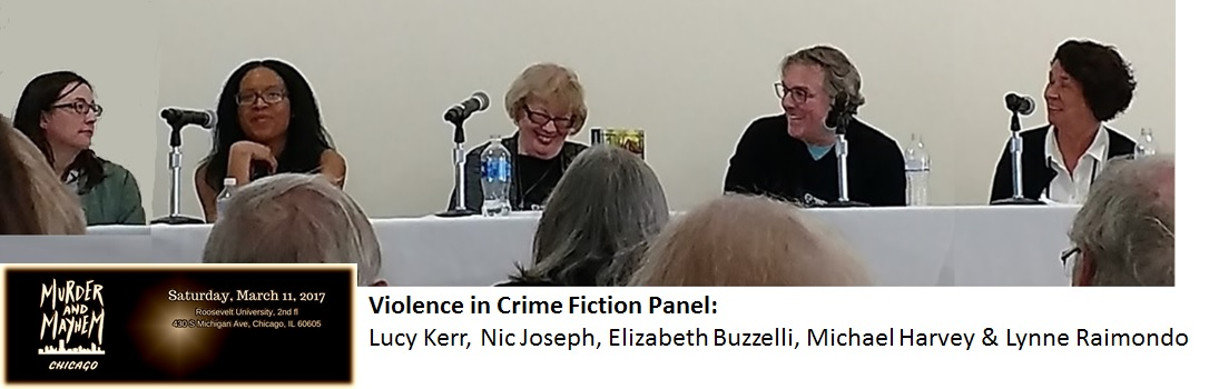 Violence in Crime Fiction Panel