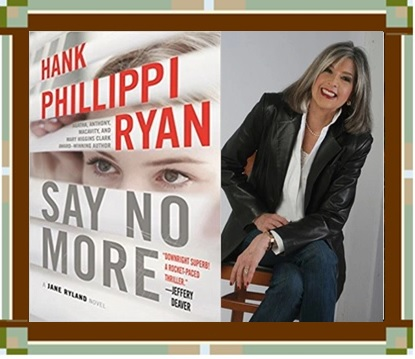 Author Ryan with Say No Morecover