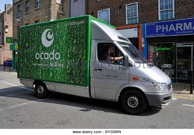 Image result for green food delivery van