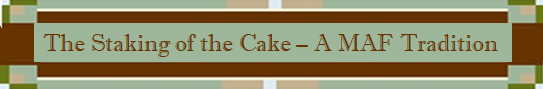 Staking the Cake logo