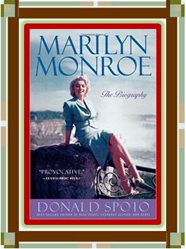Marilyn Monroe book graphic