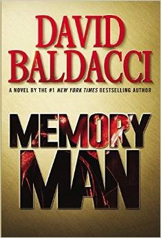 Baldacci Memory Man Cover graphic