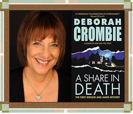 Author with A Share in Death cover