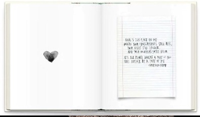 Note in Book graphic