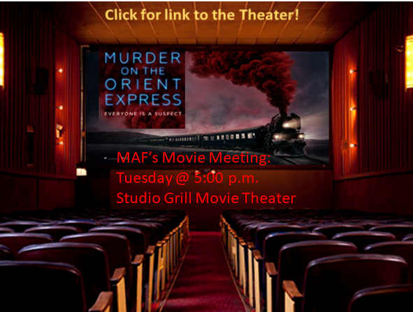 Murder On the Orient Express Studio Grill graphic