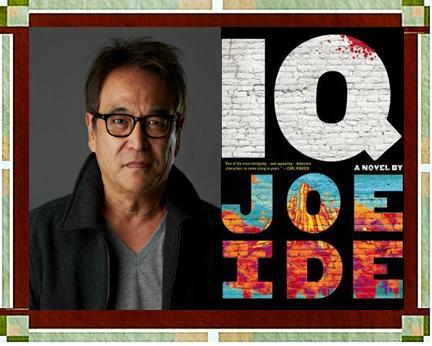"Joe Ide with ""IQ"" cover"