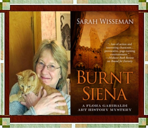Sarah Wisseman and Burnt Siena Cover