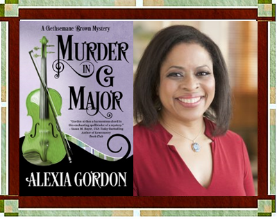 Author Gordon with Murder in G Major cover