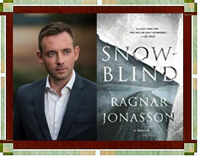 Ragnar Jonasson with Snowblind cover